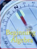 Beginning Algebra, Tobey, John S. and Slater, Jeffrey, 0131482874
