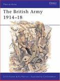 The British Army 1914-18, Robert Marrion and Donald Sylvestre Vincit Fosten, 0850452872