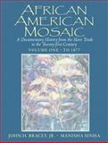 African American Mosaic : A Documentary History from the Slave Trade to the Twenty-First Century - To 1877, Bracey, John H. and Sinha, Manisha, 0130922870