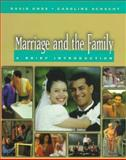Marriage and the Family : A Brief Introduction, Knox, Elizabeth, 0534552870