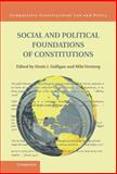 Social and Political Foundations of Constitutions, , 1107032881