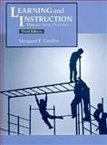Learning and Instruction : Theory into Practice, Gredler, Margaret E., 0132482886