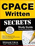 Cpace Written Secrets Study Guide : CPACE Test Review for the California Preliminary Administrative Credential Examination, CPACE Exam Secrets Test Prep Team, 163094288X