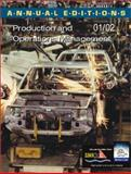 Production and Operations Management, 2001-2002, Shukla, P. K., 0072432888