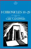 I Chronicles 10-29, Gary Knoppers, 0385512880