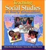 Teaching Social Studies in Early Education, Beck, Vesna and Fletcher, Melba, 0766802884