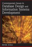 Contemporary Issues in Database Design and Information Systems Development, Keng Siau, 1599042894