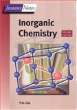 Instant Notes Inorganic Chemistry, Cox, P. A., 1859962890