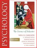 Psychology : The Science of Behavior, Carlson, Neil R. and Buskist, William, 0205472893