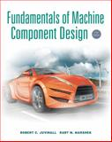 Fundamentals of Machine Component Design, Juvinall, Robert C. and Marshek, Kurt M., 1118012895