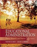 Educational Administration : Theory, Research, and Practice, Hoy, Wayne K. and Miskel, Cecil G., 0072322896