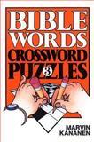 Bible Words Crossword Puzzles 3, Marvin Kananen, 0801052890