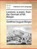 Leonor, Gottfried August Bürger, 1140922904