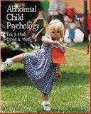 Abnormal Child Psychology, Wolfe, 0534342906
