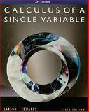 Calculus Single Var AP ED 9E, Larson, Ron and Hostetler, Robert P., 0547212909