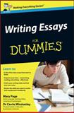 Writing Essays for Dummies, Mary Page and Carrie Winstanley, 0470742909