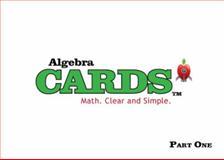 Algebra Cards, Farnaz Ehtessabian and Paul Burns, 098999290X