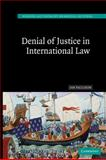 Denial of Justice in International Law, Paulsson, Jan, 0521172918