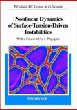 Nonlinear Dynamics of Surface-Tension-Driven Instabilities : With a Foreword by I. Prigogine, Colinet, Pierre and Legros, Jean Claude, 3527402918