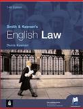Smith and Keenan's English Law, Keenan, Denis, 0582822912