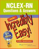 NCLEX-RN Questions and Answers, Lippincott, 1608312917
