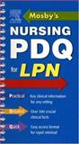 Mosby's Nursing PDQ for LPN, , 0323032915