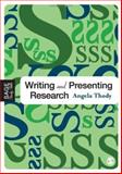 Writing and Presenting Research, Thody, Angela, 1412902924