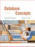 Database Concepts, Kroenke and Kroenke, David M., 0132742926