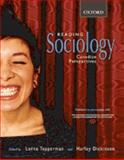 Reading Sociology : Canadian Perspectives, Tepperman, Lorne, 0195422929