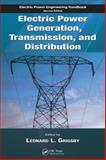 Electric Power Generation, Transmission, and Distribution, , 0849392926
