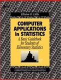 Computer Applications in Statistics, Little, Elliston O., 007012292X