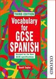 Vocabulary for GCSE Spanish, Geoff Taylor, 0748762922