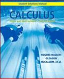 Calculus, Student Solutions Manual : Single and Multivariable, Hughes-Hallett, Deborah and Flath, Daniel, 0471242934