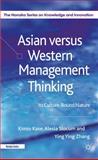 Asian Versus Western Management Thinking 9780230272934