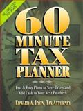 60-Minute Tax Planner, Lyon, Edward A., 0130952931
