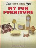 Cut and Color My Fun Furniture, Florence Temko, 048645293X