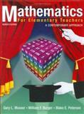 Mathematics for Elementary Teachers 9780471662938