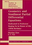 Geometry and Nonlinear Partial Differential Equations : Dedicated to Professor Buqing Su in Honor of His 100th Birthday, Su, Buqing, 0821832948