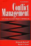 Conflict Management : A Communication Skills Approach, Borisoff, Deborah and Victor, David A., 0205272940