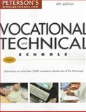 Vocational and Technical Schools: West, Peterson's Guides Staff, 0768902940