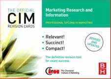 Marketing Research and Information, Williams, John, 0750682949
