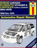 Dodge Caravan, Plymouth Voyager and Chrysler Town and Country Mini-Vans Automotive Repair Manual, LeDoux, L. Alan and Haynes, J. H., 1563922959