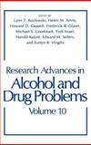 Research Advances in Alcohol and Drug Problems, , 0306432951