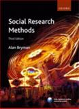 Social Research Methods, Bryman, Alan, 0199202958