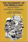 The Geography of the Middle East, Jankowski, James and Longrigg, Stephen H., 0202362965
