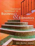 Statistical Techniques in Business and Economics, Lind, Douglas A. and Marchal, William G., 0073272965
