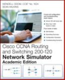 Cisco CCNA Routing and Switching 200-120 Network Simulator, Odom, Wendell and Wilkins, Sean, 0789752964