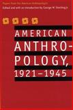 American Anthropology, 1921-1945, American Anthropological Association, Meeting Staff, 0803292961