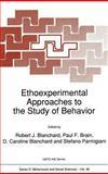 Ethnoexperimental Approaches to the Study of Behaviour : Proceedings, , 0792302966