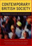 Contemporary British Society, Abercrombie, Nicholas and Warde, Alan, 0745622968